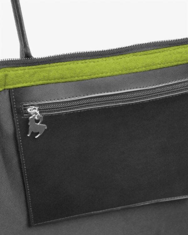 de4afd2017463 Startseite   Mode   Taschen   Filz Handtasche